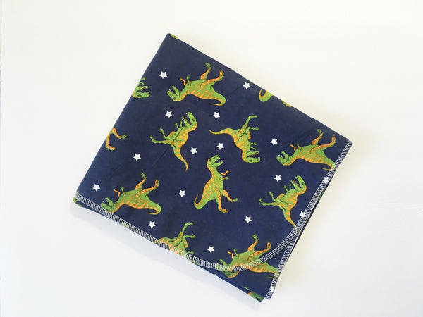 T-Rex Flannel Swaddle