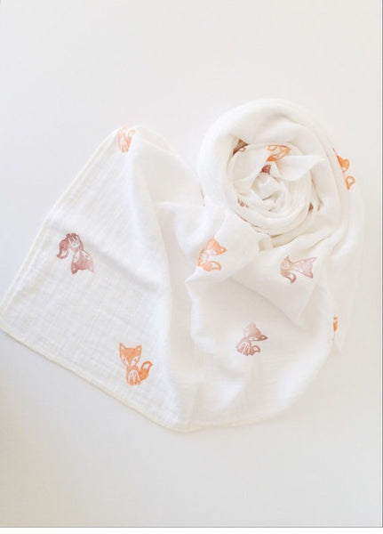 Frankie The Fox Swaddle