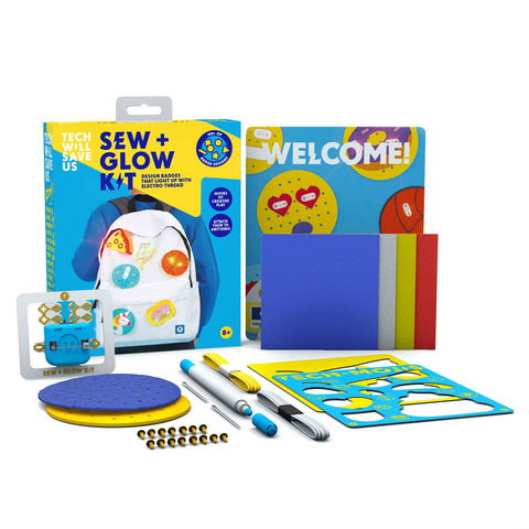 Technology Will Save Us - Sew & Glow Kit
