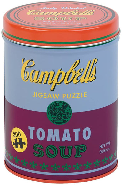 Andy Warhol Soup Can Red Violet Jigsaw Puzzle