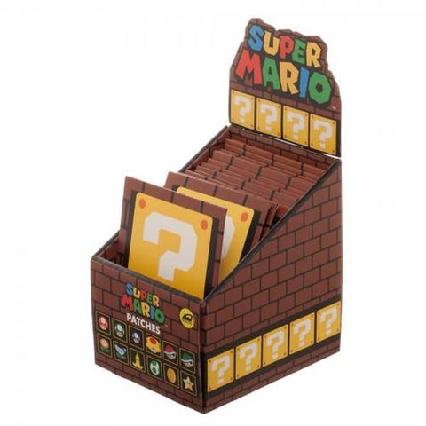 Super Mario Bros Iron on Patch Blind Box