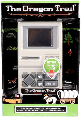 The Oregon Trail Handheld Game