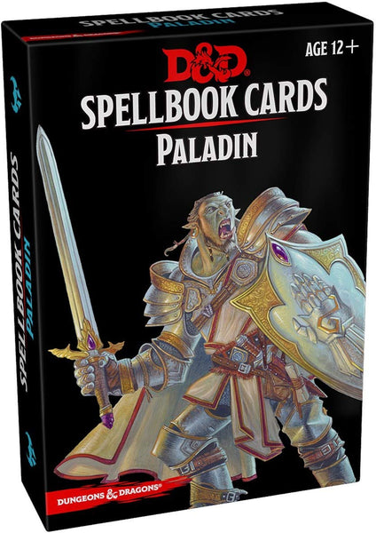 Dungeons & Dragons: Spellbook Cards: Paladin
