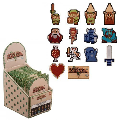 Legend of Zelda Iron on Patch Blind Box