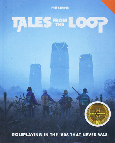 Tales from The Loop RPG Tabletop Game