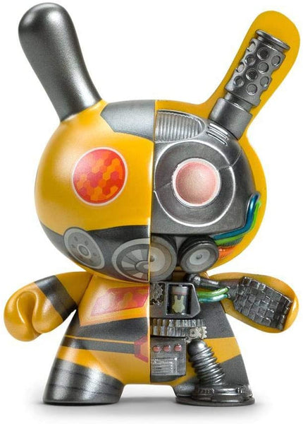 "5"" Dairobo-B Mecha Half Ray Dunny By Dolly Oblong: Yellow"