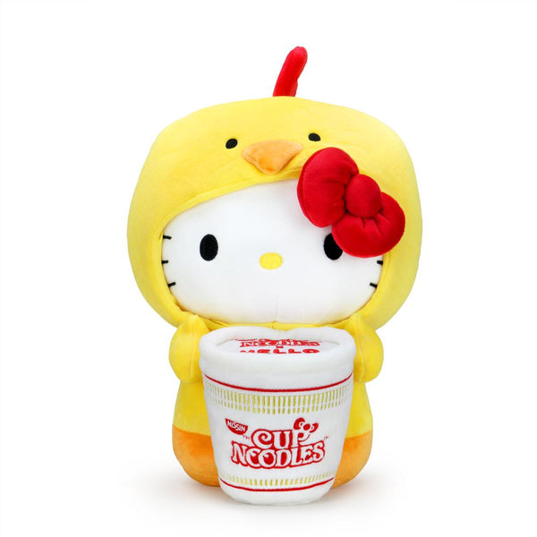 Nissin Cup Noodles X Hello Kitty Chicken Cup Plush