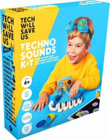 Technology Will Save Us - Dough Universe Techno Sounds Kit