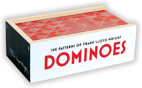 Frank Lloyd Wright Wooden Dominoes Board Game