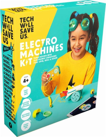 Technology Will Save Us - Dough Universe Electro Machines Kit