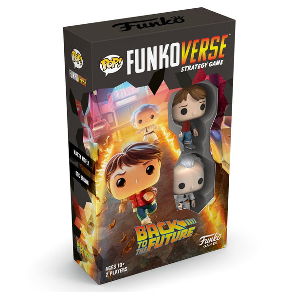 POP Funkoverse: Back to the Future 100