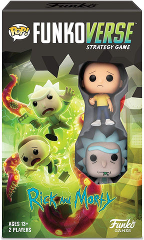 Funkoverse Strategy Game: Rick & Morty 2 Pack