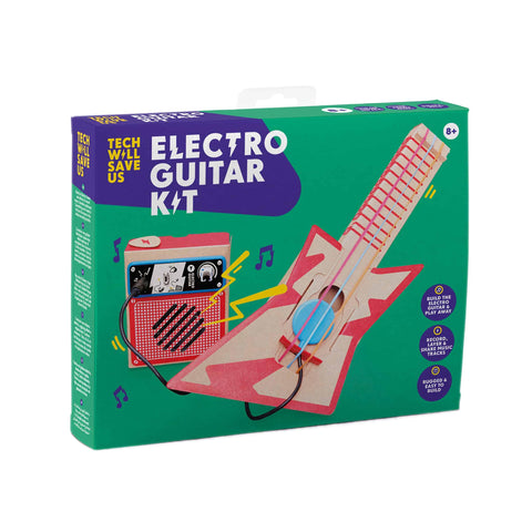 Tech Will Save Us: Electro Guitar Kit