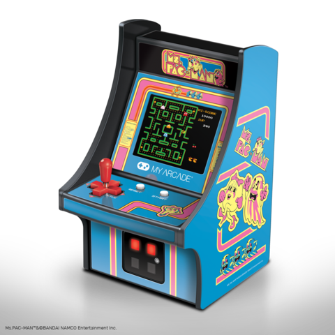 Ms. Pac-Man Micro Player