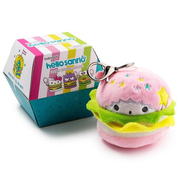 Hello Sanrio Plush Burger Charms