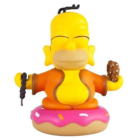 The Simpsons Homer Buddha