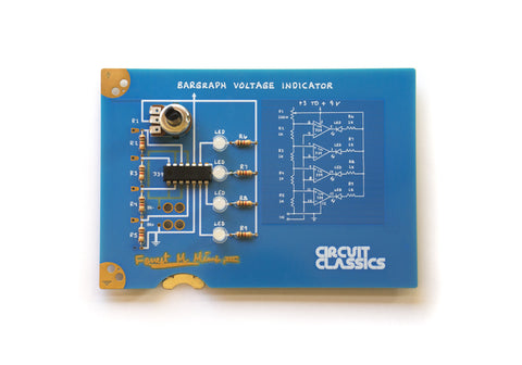 Circuit Classics - Bargraph Voltage Indicator