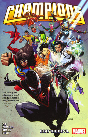 Champions by Jim Zub Vol. 1: Beat the Devil