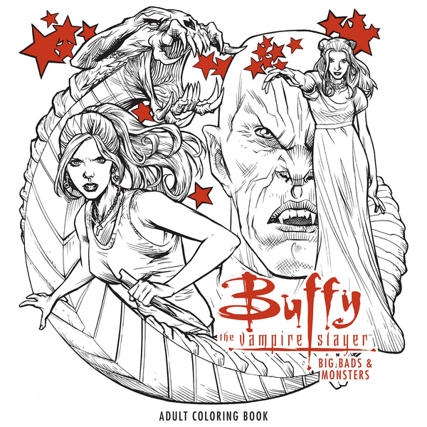 Buffy the Vampire Slayer: Big Bads & Monsters Coloring Book