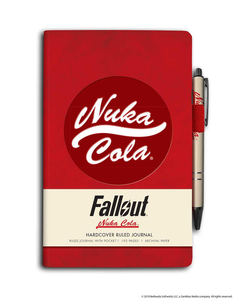 Fallout Hardcover Ruled Journal (With Pen)
