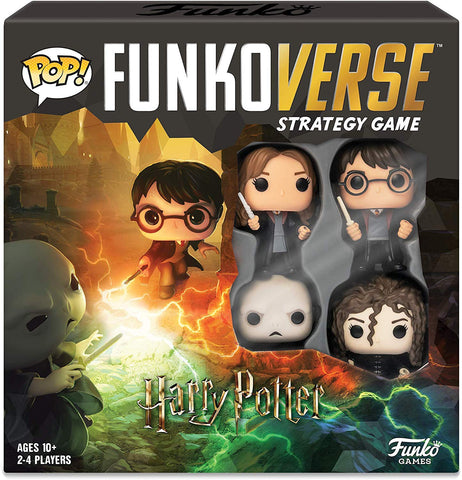 Funkoverse Strategy Game: Harry Potter 4 Pack