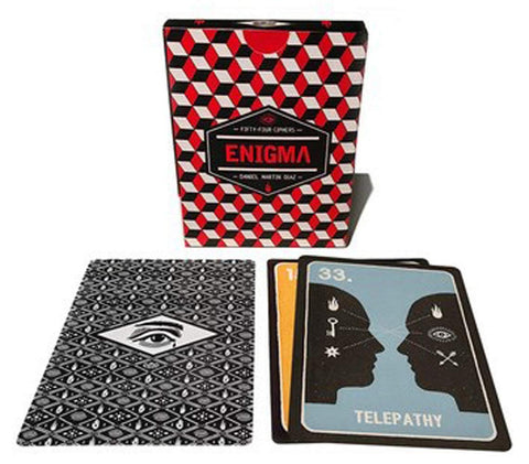 Enigma: A Mysterious Game of Chance, and Divination Cards