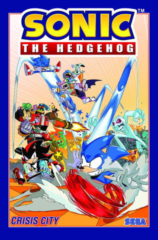 Sonic The Hedgehog, Vol. 5: Crisis City