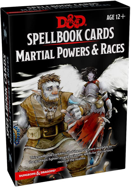 Dungeons & Dragons: Spellbook Cards: Martial