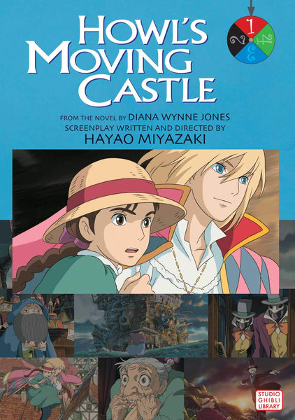 Howl's Moving Castle Film Comic: Vol. 1
