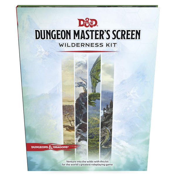 Dungeons & Dragons Dungeon Master's Screen Wilderness Kit