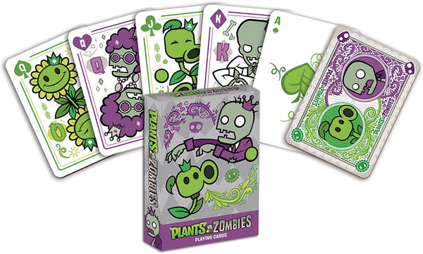 Plants Vs Zombies Playing Cards