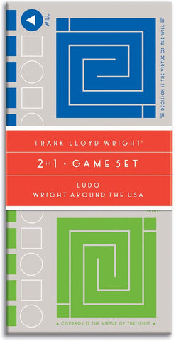 Frank Lloyd Wright 2-in-1 Game Set