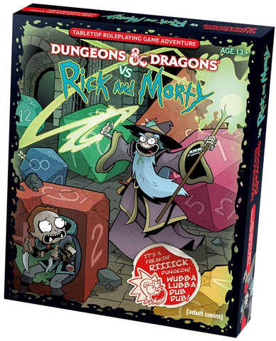 Dungeons & Dragons vs Rick and Morty: Tabletop Game