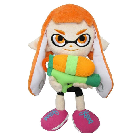 Nintendo Plush:  Splatoon Inkling Girl Orange