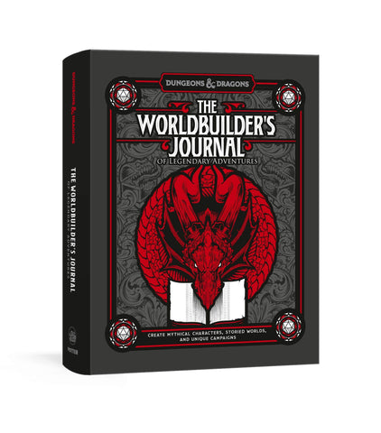 The Worldbuilder's Journal of Legendary Adventures: Dungeons & Dragons