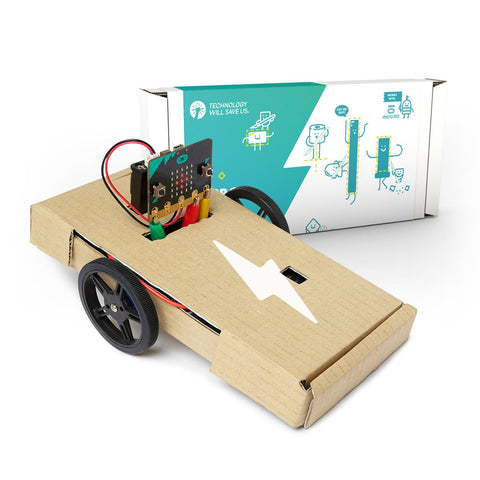 Technology Will Save Us - micro:bot Kit