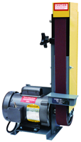 Kalamazoo Belt Sander-with Motor - #2FSM; 2 x 48'' Belt; 1/2HP; 1PH Motor - D&T Industrial Supply