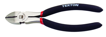 Tekton Heavy Duty Diagonal Cutting Pliers -- 6-1/2'' (PVC Dipped) - D&T Industrial Supply