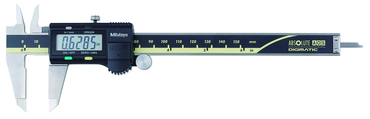 Mitutoyo 0-6 / 0-150mm Range-.0005 / 0.01mm Resolution - Electronic Caliper - No SPC output - D&T Industrial Supply