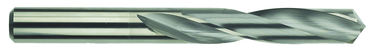 Morse Cutting Tools 11/64 Dia-2-1/8 Flute Length-3-1/4 OAL-Straight Shank-Solid Carbide-118° Point Angle-Bright-Series 5374-Standard Jobber Drill - D&T Industrial Supply