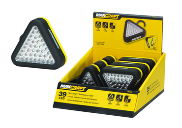 Maxcraft Led Triangle Work / Emergency Light - D&T Industrial Supply