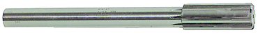 Rock River Tool 1/2 Dia- HSS - Straight Shank Straight Flute Carbide Tipped Chucking Reamer - D&T Industrial Supply