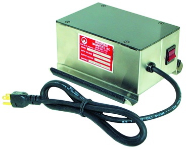"Mag-Mate Continuous Duty Demagnetizer - 3-3/4(h) x 8(l) x 4-3/4(w)"" - 120V - 4 Amps - D&T Industrial Supply"