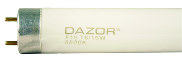 Dazor Replacement Bulb (15 Watt) - For 2 Tube Fluorescent - D&T Industrial Supply