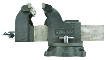 "Wilton Swivel Workshop Vise - Model #63302- 6"" Jaw Width - D&T Industrial Supply"