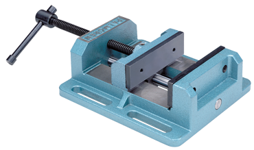 "Palmgren Low-Profile Drill Press Vise - 6"" Jaw Width - D&T Industrial Supply"