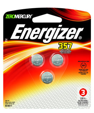 Energizer 1.5V Max Alkaline Battery - 3 Pk - For Calipers - D&T Industrial Supply