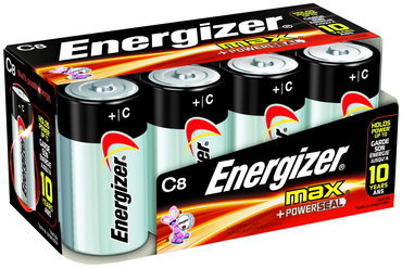 Energizer C Max Alkaline Battery 8 Pack - D&T Industrial Supply