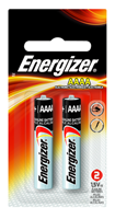 Energizer AAAA Max Alkaline Battery 2 Pack - D&T Industrial Supply
