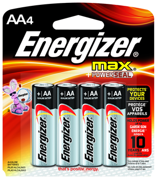 Energizer AA Max Alkaline Battery 4-Pack - D&T Industrial Supply